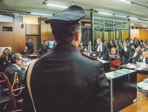 Prima udienza del processo Mafia Capitale.