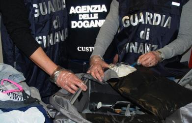 sequestro cocaina aeroporto