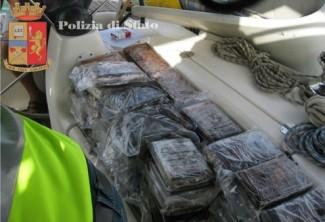 cocaina su barca