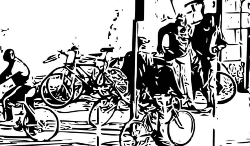 Il lungo fiume di veleno arriva in bici adomicilio